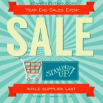 SALE & RETIRING LIST: Stampin Up Year End Sale Event Starts Today – While Supplies Last