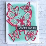 SNEAK PEEK: On My Mind Butterfly Wow Card from the  Beautiful Butterflies dies