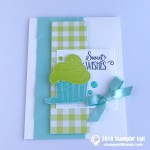 CARD: Sweet Wishes from the Hello Cupcake Stamp Set