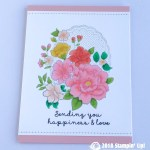CARD: Happiness and Love from the Lovely Lattice Stamp Set