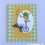 CARD: You can Do Anything from the So Hoppy Together Stamp Set