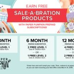 Sale-a-bration meets Paper Pumpkin Kits