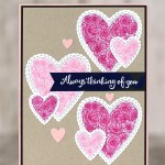 CARD: Always thinking of you Valentine's Day card