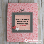 CARD: 7 billion smiles and yours is the sweetest card  from Letter board Messages