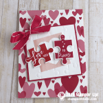 CARD: Love you to pieces Valentine's Day puzzle card