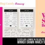 BLOG CANDY GIVEAWAY:  Win the Well Said Bundle
