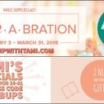 SPECIALS: Tami's Ordering Gift Tutorials for March – Hostess Code 4UTVBUPS