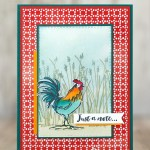 CARD: Just a note card from the Home to Roost SAB Stamp Set
