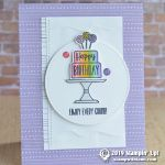 CARD: Enjoy every crumb birthday cake card from the Piece of Cake Bundle