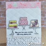 CARD: Sweeter with each passing year card from the Piece of Cake Bundle