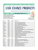 2019 Occasions catalog retiring list