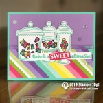 CARD: Make it a sweet celebration from the Sweetest Thing stamps