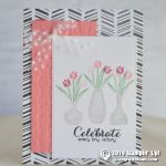 CARD: Celebrate Every Tiny Victory from the Vibrant Vases Stamp Set