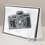 CARD: Capture the Good Embossed Zoom Lens Card