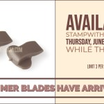 Stampin Trimmer Blades have arrived – Important info on availability