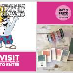 DAY 3 of 10 Days of Xmas in July Giveaways  – Enter Here