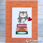 CARD: Check You Out Owl Birthday Card