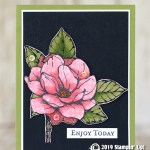 CARD: Enjoy today from the Good Morning Magnolia stamp set