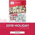 The 2019 Stampin Up Holiday Catalog is now available online