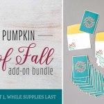 "Paper Pumpkin August ""Gift of Fall"" Add on Bundle Available"