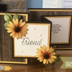 BLOG HOP & VIDEO: How to make a Double Z Fold Sunflower Card