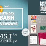 BONUS Day Finale of my 5 Day Birthday Bash Giveaways  – Enter Here