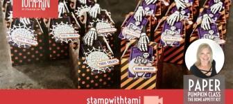 "VIDEO: September Paper Pumpkin Kit ""Bone Appetit Kit"" Reveal & Giveaway"