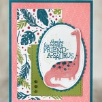 CARD: Thanks for being a Friend-a-saurus Dino card