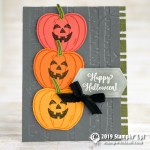 CARD: Happy Halloween Pumpkins from the Harvest Hello Bundle