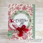 CARD: Tidings of Comfort and Joy Cardinal Christmas Card