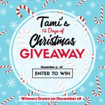 Tami's 12 Days of Christmas Giveaways – December 5-16