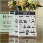 Win 1 of 3 Holiday Haul Host Stamp Sets