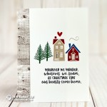 CARD: Our Hearts Come Home from the From Our House Stamp Set