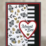CARD: Meant to bee Valentine's Day card