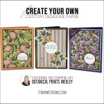 VIDEO: Create your own custom designer paper with Botanical Prints