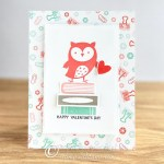 CARD: Valentine's Day Owl from the Check You Out Stamps
