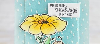 CARD: You're on my mind from the Little Lady Bug