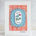 CARD: Something for you birdie card from the Time for Tags Stamps – new