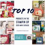 Stampin Scoop Video: Mini Catalog Top 10 Must Haves