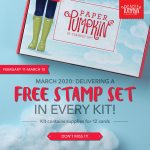 "Free Stamp Set with the March Paper Pumpkin Kit – ""No Matter the Weather"""