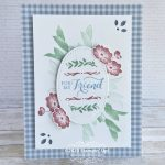 CARD: For my friend card from the Layered with Kindness stamps – new