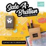 Saleabration 3rd Release products now available – less than 1 week left ends March 31