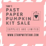 SALE: Tami's Past Paper Pumpkin Kit Sale – While They Last