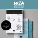 Win the Stampin Up Power of Hope Sale-a-bration Bundle
