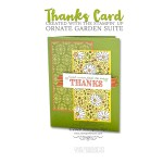 CARD: Just wanted to say thanks card from the Ornate Garden Suite
