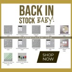 Wahooo!!!! Popular back-ordered products are back in stock!