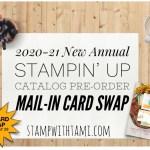 CARD SWAP: Stampin Up New Catalog Full Card Swap – Due May 29