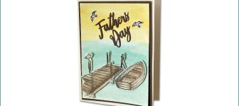 BLOG HOP & VIDEO: How to make a masculine row boat card