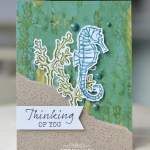 CARD: Thinking of You from the Seaside Notions Stamp Set