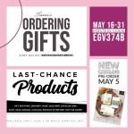 SPECIALS: Tami's Ordering Gift Tutorials for May 16-31 – Hostess Code UEGV374B